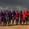 MASAI MEN - KENYA by Michael Sheridan