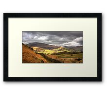 The view from Loughrigg Fell Framed Print