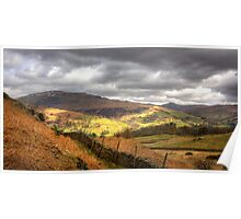The view from Loughrigg Fell Poster