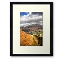 The well travelled path Framed Print