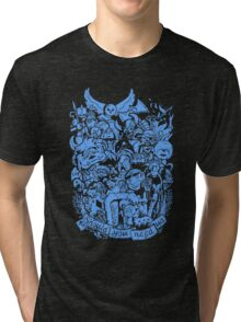 Old Friends (blue) Tri-blend T-Shirt