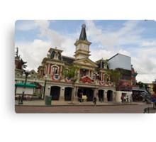 Disney Land Canvas Print
