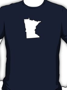 Minnesota State Outline T-Shirt
