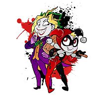 Yami Yugi andYugi as Joker and Harley Quinn  by masaya90