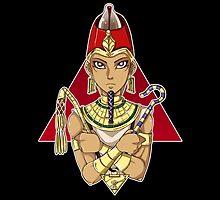 Pharaoh Atem Yu-Gi-Oh!  by masaya90