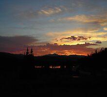 Echo Lake Sunset CO by JamNic