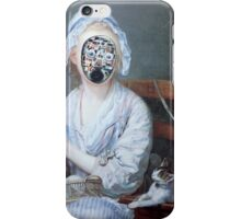 Knitting Machine iPhone Case/Skin