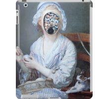 Knitting Machine iPad Case/Skin
