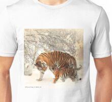Siberian Tiger and Cub Unisex T-Shirt