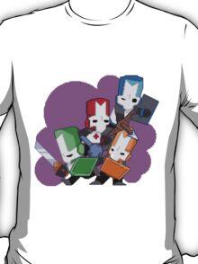 Castle Crashers Pixelart T-Shirt