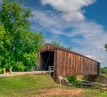 Burfordville Covered Bridge by Jerry E Shelton