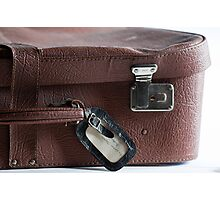 Granny's Suitcase Photographic Print
