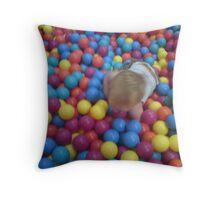 BUBBLE-O-FUN! Throw Pillow