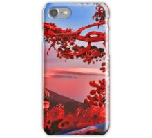 SUNSET,CRATER LAKE  iPhone Case/Skin