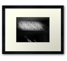Night Motion II: Exit Only Framed Print