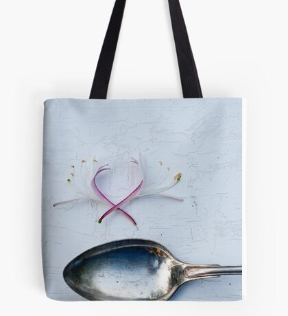 Spoon and Honeysuckle Tote Bag