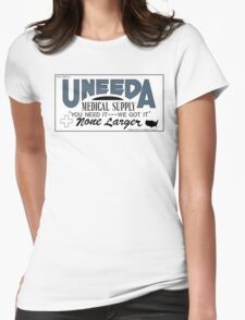 Uneeda Medical Supply (Return of the Living Dead) Womens Fitted T-Shirt