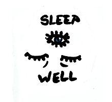 Sleep Well Photographic Print