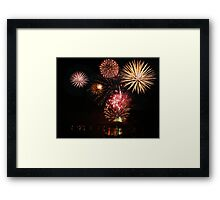 4th of July Celebration Framed Print
