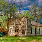 Abandoned Church ~ Rural Laclede County by Jerry E Shelton