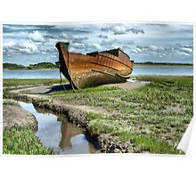 Wyre Estuary  Wrecks  Poster