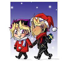 puzzleshipping Yu-Gi-Oh! Christmas by masaya90