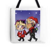 puzzleshipping Yu-Gi-Oh! Christmas Tote Bag