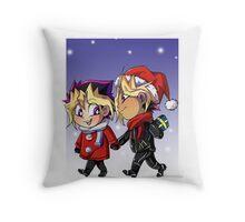 puzzleshipping Yu-Gi-Oh! Christmas Throw Pillow