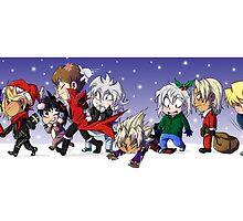 Yu-Gi-Oh! Christmas  by masaya90