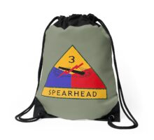 3rd Armored Division (United States) Drawstring Bag