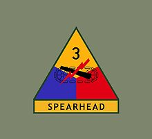 3rd Armored Division (United States) by wordwidesymbols