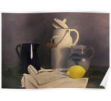 Stillife with lemon Poster