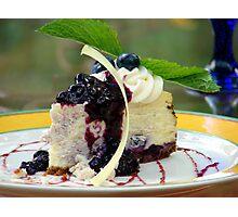 Dessert First Photographic Print