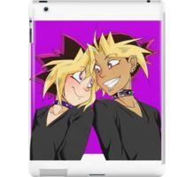 Atem-Yugi puzzleshipping Yu-Gi-Oh! iPad Case/Skin