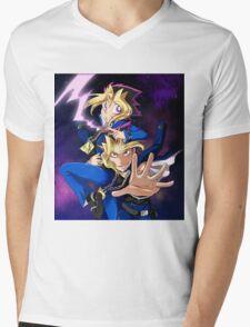 Yu-Gi-Oh! mind crush Mens V-Neck T-Shirt