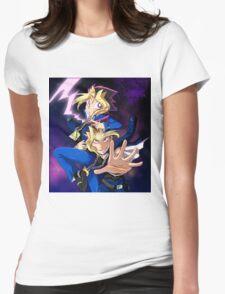 Yu-Gi-Oh! mind crush Womens Fitted T-Shirt