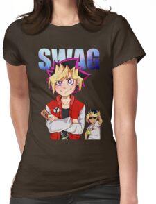 Yu-Gi-Oh! Yugi-Atem SWAG Womens Fitted T-Shirt