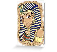 Pharaoh Atem Yu-Gi-Oh! Greeting Card