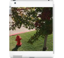 Little Red Fireman iPad Case/Skin