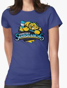 Sunnyvale Samsquanches Womens Fitted T-Shirt