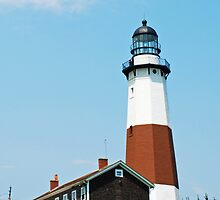 Montauk Point Lighthouse, Long Island, New York by Michael Brewer