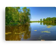 Horicon National Wildlife Refuge-2 Canvas Print