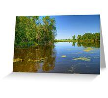 Horicon National Wildlife Refuge-2 Greeting Card