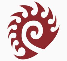 Red Zerg Insignia Kids Clothes