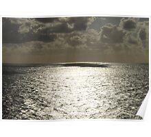 Theatrical Ocean Poster
