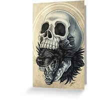 Beast Within Greeting Card