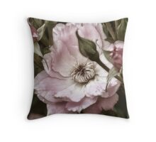 Roses are Pink Throw Pillow