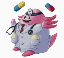 Dr. Chansey! by Kashidoodles