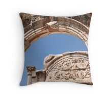 The Temple of Hadrian Throw Pillow