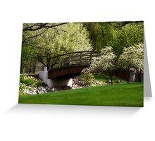 Dry River Bridge Greeting Card